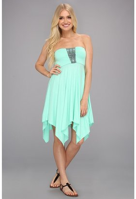 Roxy Summer Bliss Dress (Cabbage) - Apparel