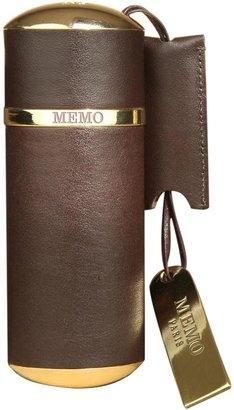 Memo Paris Brown Leather Travel Case