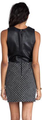 Dolce Vita Maciee Checker Tweed Dress