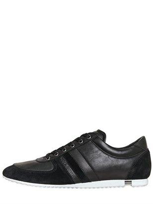 Dolce & Gabbana Australia Leather & Crust Sneakers