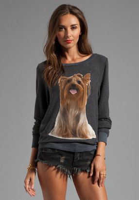 Wildfox Couture Granny's Dog Baggy Beach Jersey