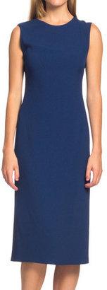 Calvin Klein Collection Scoop Neck Dress Heron
