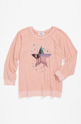 Wildfox Couture 'Starry Palms' Sweatshirt (Big Girls)