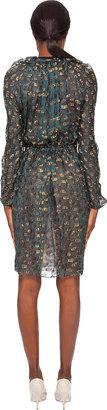 Lanvin Metallic Jacquard Dress