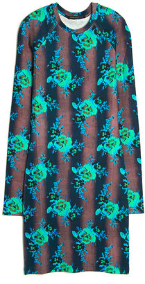 Christopher Kane Bouquet Stretch Dress