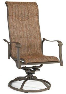 Furniture Oasis Aluminum Outdoor Swivel Rocker, Created for Macy's