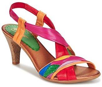 Betty London POULOI women's Sandals in Multicolour