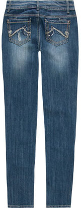 HIPPIE LAUNDRY Girls Destructed Skinny Jeans