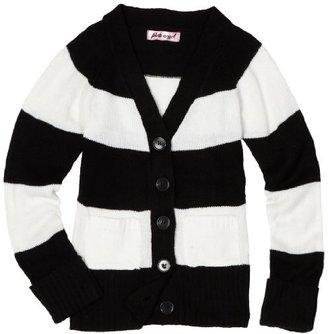 Pink Angel Girls 7-16 Stripe Long Sleeve Sweater