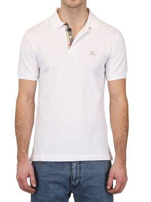 Burberry Cotton Piquet Polo Shirt