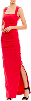 Nicole Miller Felicity Crepe Gown