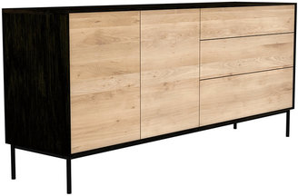 Ethnicraft Blackbird Sideboard - Black/Oak
