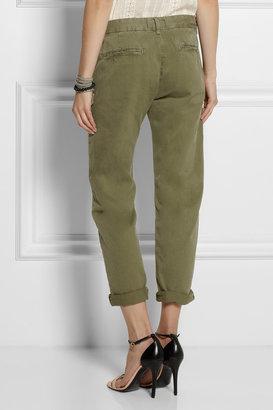 Current/Elliott The Captain cotton-twill wide-leg pants
