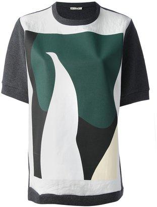 Marni abstract printed t-shirt