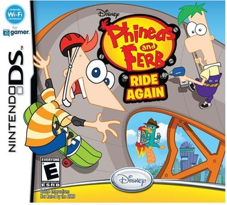 Nintendo Phineas & Ferb Ride Again for DS