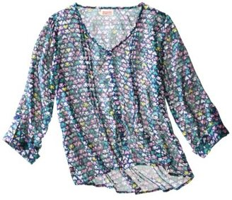 Mossimo Juniors Chiffon Top - Assorted Colors