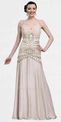 Sue Wong Scrollwork Embroidered Evening Gowns