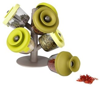 Vacu-Vin 2843660 PopSome Herbs and Spices w/ 2 Tree Stands (Set of 6)