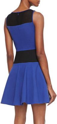 Tibi Sleeveless Flirty Knit Dress