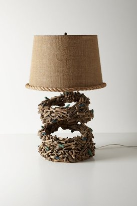 Anthropologie Shoreline Lamp Ensemble