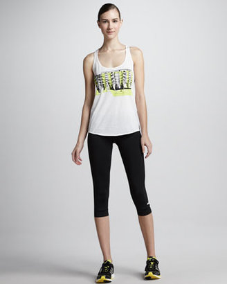 adidas by Stella McCartney Cropped Running Tights