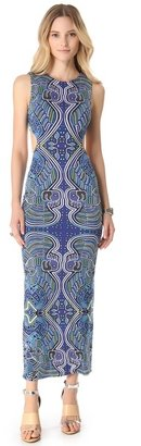 Mara Hoffman Cutout Column Maxi Dress
