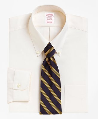 Brooks Brothers Madison Fit Button-Down Collar Dress Shirt