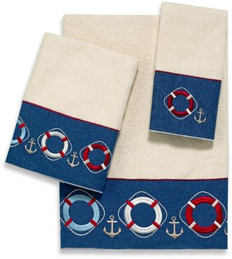 Avanti Life Preservers II Bath Towels in Ivory