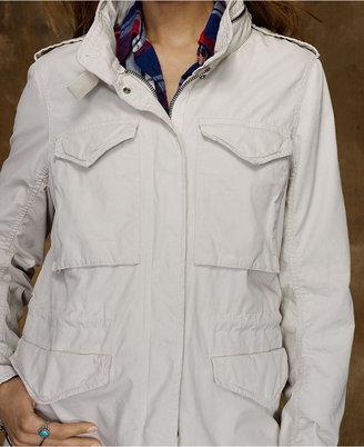Denim & Supply Ralph Lauren Jacket, Cotton Embroidered