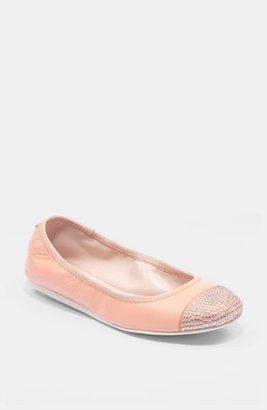 BCBGeneration 'Agatha' Flat Sheer Pink 6 M