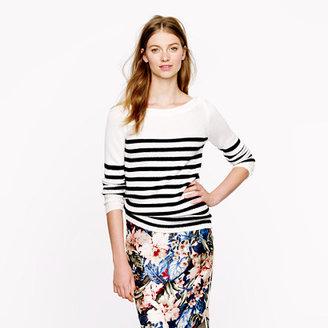 J.Crew Collection cashmere sailor sweater