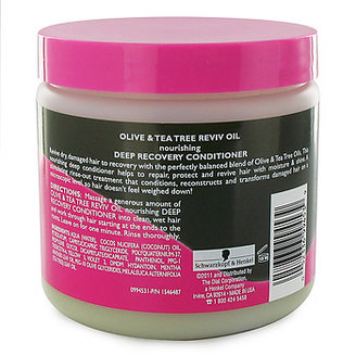 Smooth 'N Shine Polishing Olive & Tea Tree RevivOil Nourishing Deep Recovery Conditioner