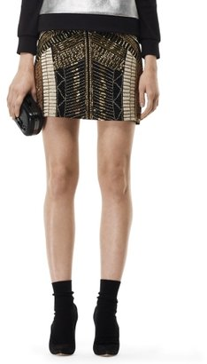 Club Monaco Kiera Beaded Skirt