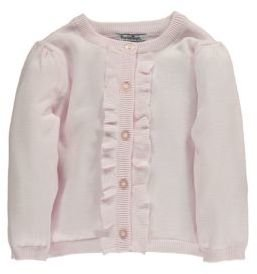 Hartstrings Baby Girls Cotton Cardigan Sweater