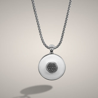 John Hardy DOT COLLECTION Round Pendant on Chain Necklace