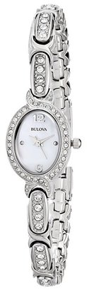 Bulova - Ladies Crystal - 96L199 Watches $275 thestylecure.com