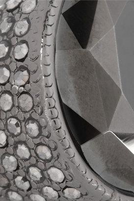 Kenneth Jay Lane Gunmetal-plated hermatite ring