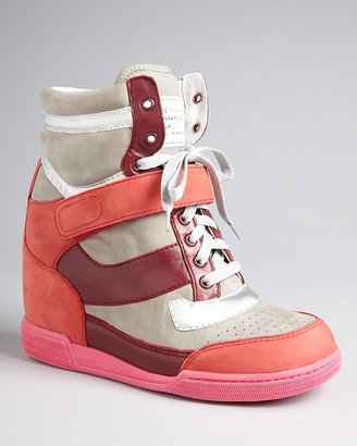 Marc by Marc Jacobs Wedge High Top Sneakers