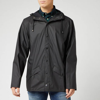 Rains Jacket - Black - XS-S