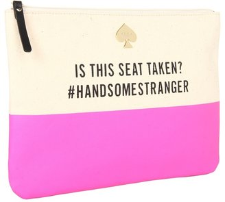 Kate Spade Is This Seat Taken? Gia (Bright Pink) - Bags and Luggage