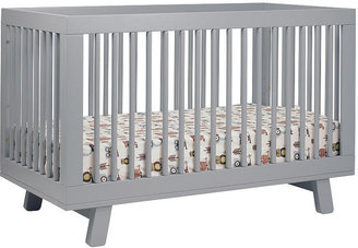 Hudson Babyletto 3-in-1 Convertible Crib with Toddler Rail - Gray