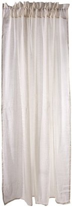 NoJo Shimmer Window Sheers - Ivory