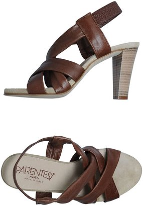 Parentesi High-heeled sandals