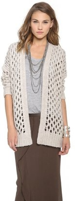 DKNY Pure Chunky Melange Sweater