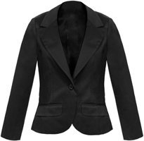 Fred Flare Black Cat Tuxedo Blazer