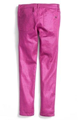 Joe's Jeans Metallic Denim Jeggings (Big Girls)