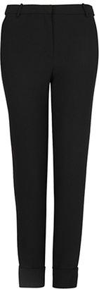 MANGO Crepe Suit Trousers, Black