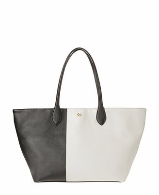 Ann Taylor Colorblocked Tote