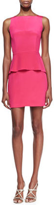 Rebecca Minkoff Stam Silk Back-Cutout Dress