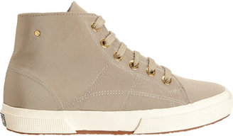 The Row Faille High Top Sneakers